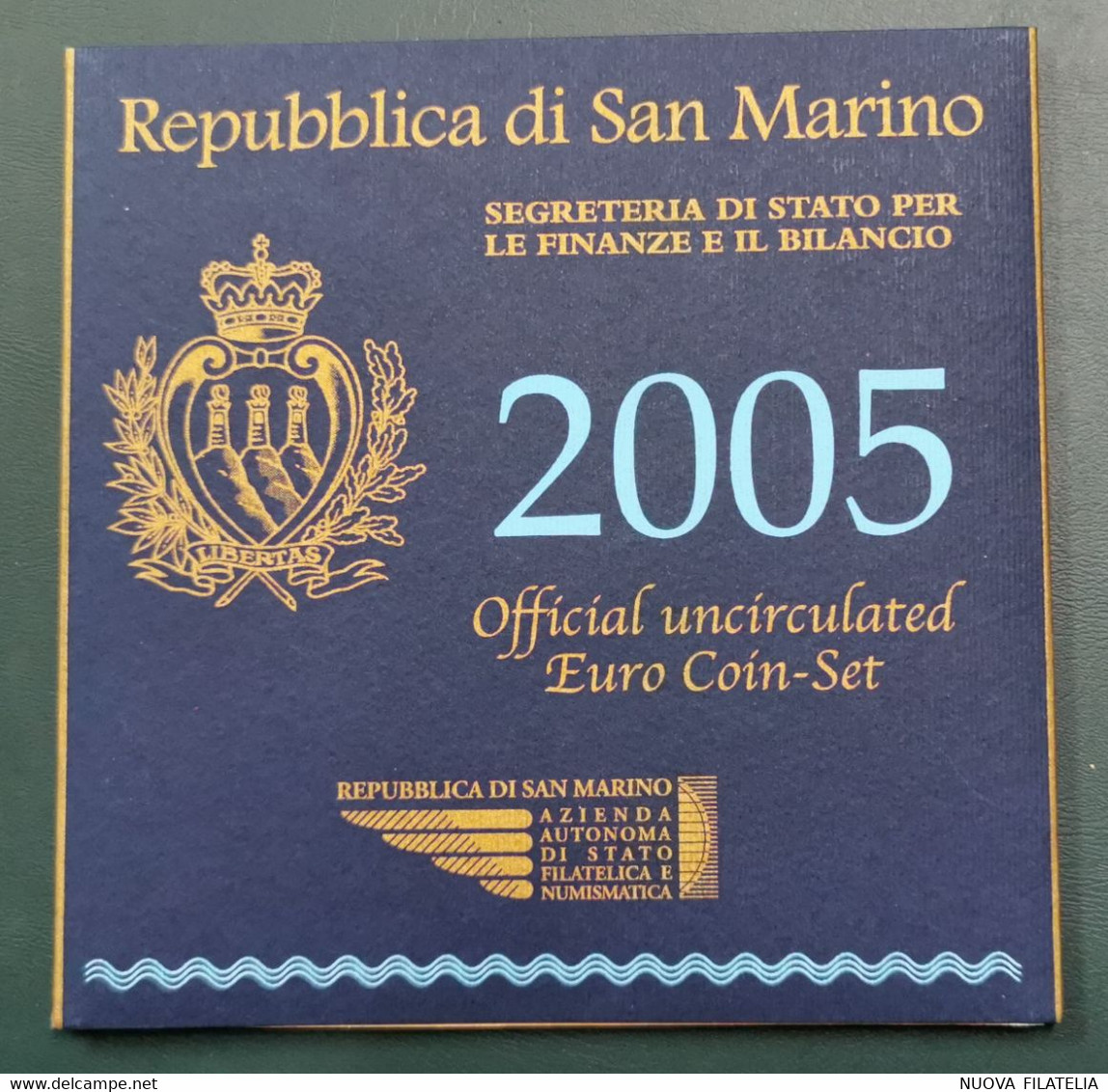 SAN MARINO 2005 DIVISIONALE FDC - San Marino