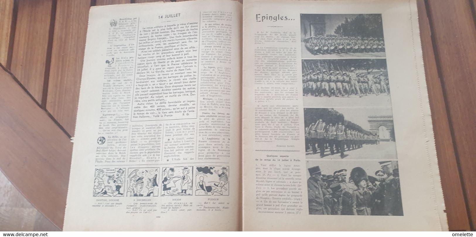 PELERIN 39 /DANTZIG /ANNAM BAO DAI /PETITES SOEURS DES PAUVRES SOUPE /14 JUILLET PARIS LEGION ETRANGERE - 1900 - 1949