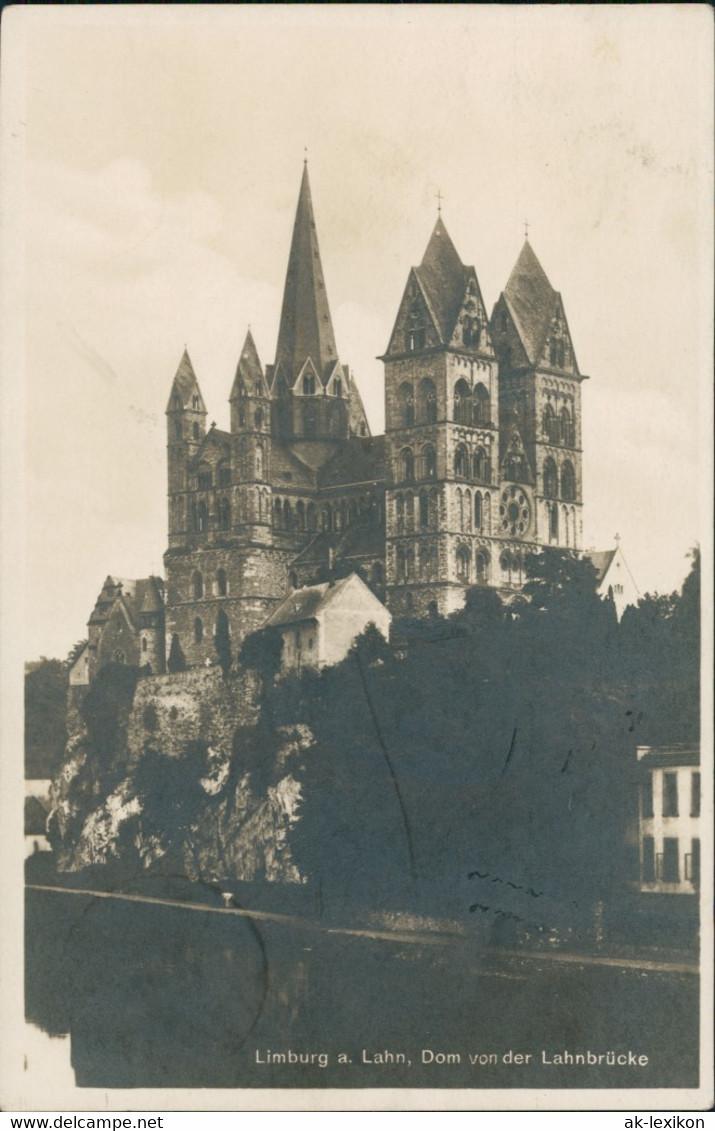 Limburg (Lahn) Limburger Dom, Ansicht Von Der Lahn-Brücke Aus 1925 - Limburg