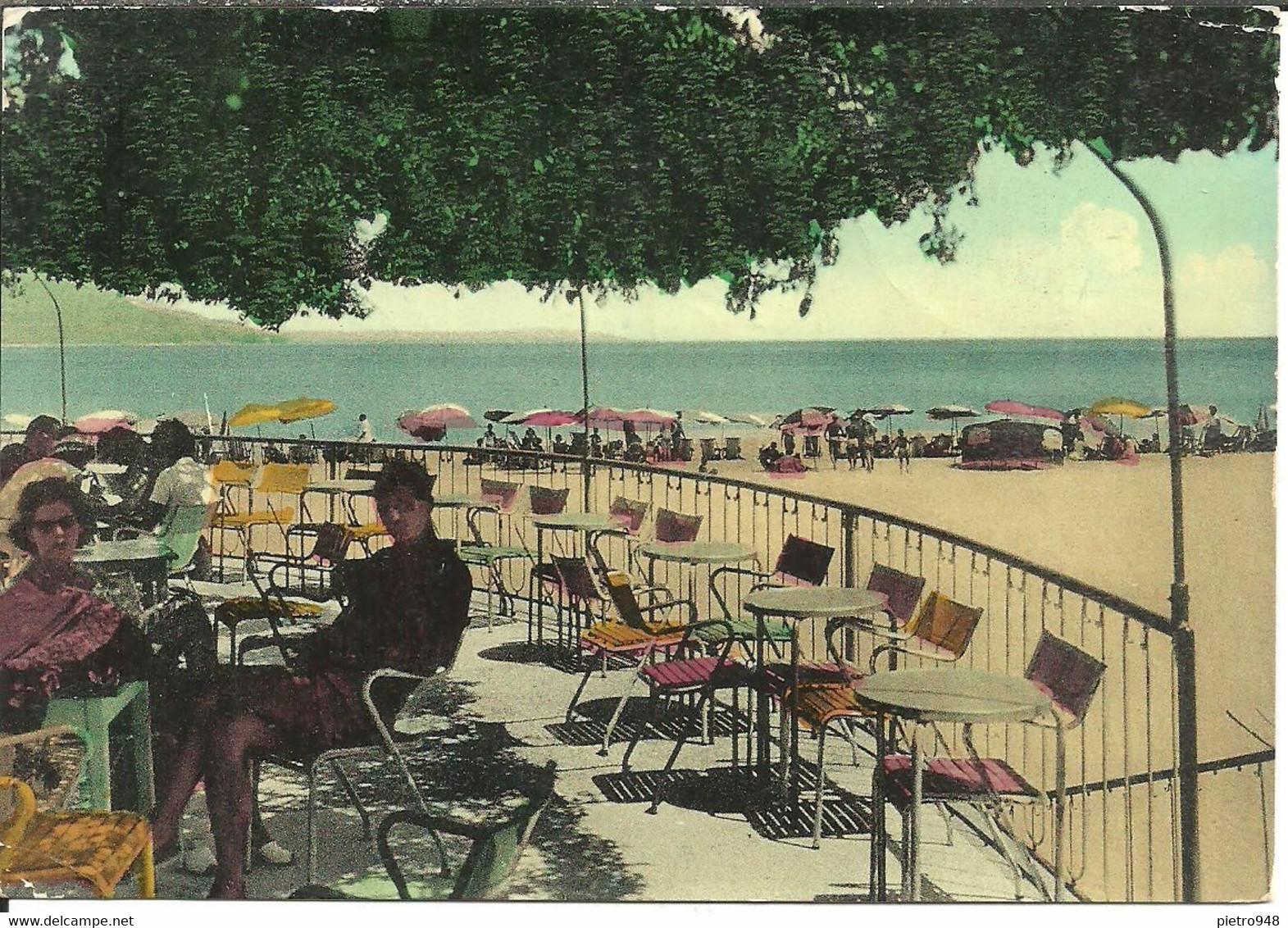 Soverato (Catanzaro) Lido Miramare Visto Dalla Terrazza Del Bar, Miramare Beach - Catanzaro