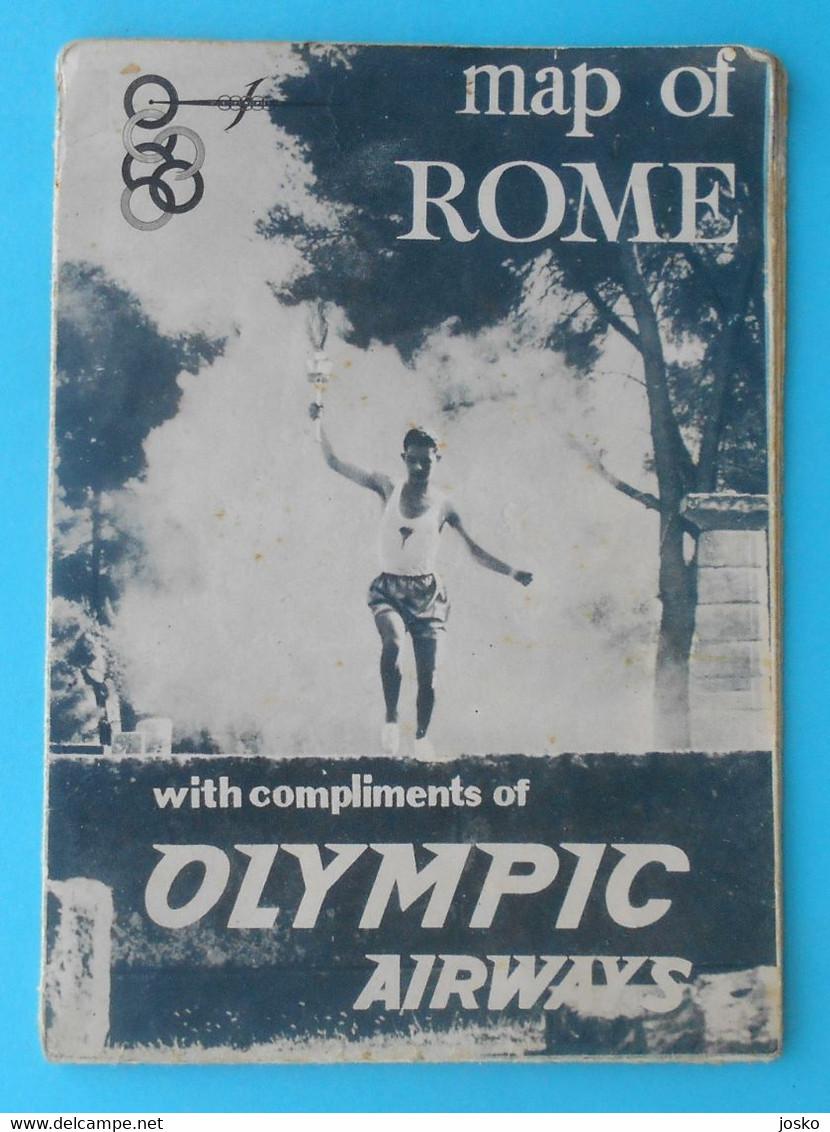 OLYMPIC GAMES ROME 1960 - Old Olympics Brochure Programme * Olympiad Olympiade Olympia Olimpiade Roma '60. Italy Italia - Zonder Classificatie