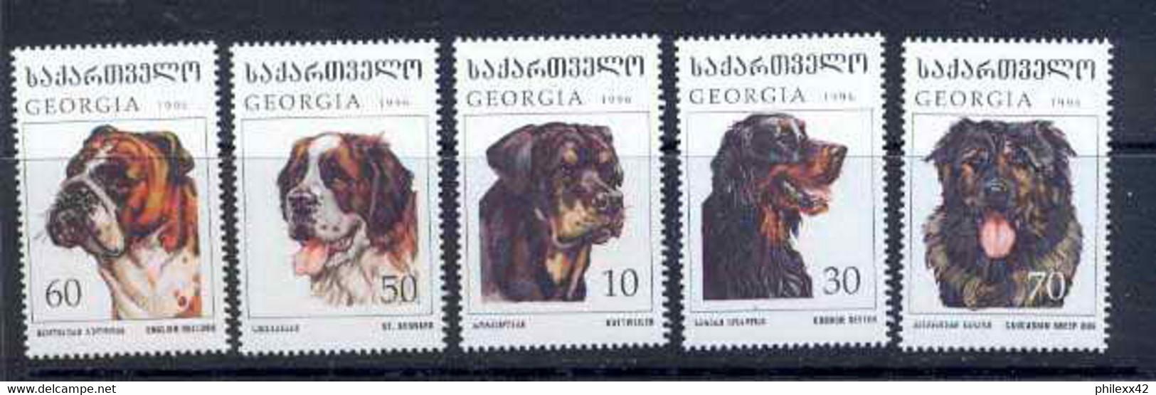 125 Géorgie (Georgia) N° 191 / 195 Chiens (chien Dog Dogs) COTE 6 EUROS - Georgien
