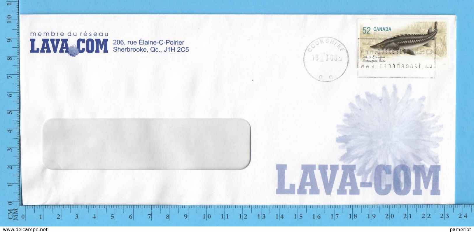 Commercial Envelope  - LAVA COM Sherbrooke - Cartas