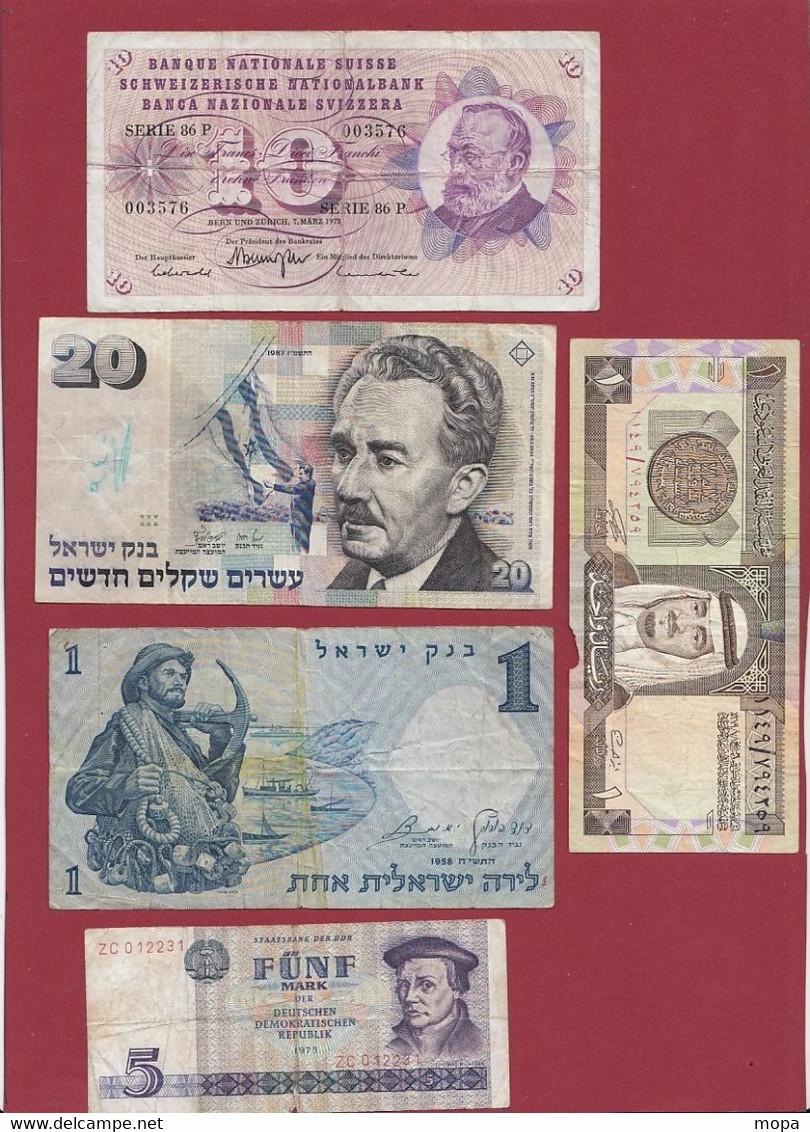 Pays Du Monde 9 Billets Dans L 'état - Kiloware - Banknoten