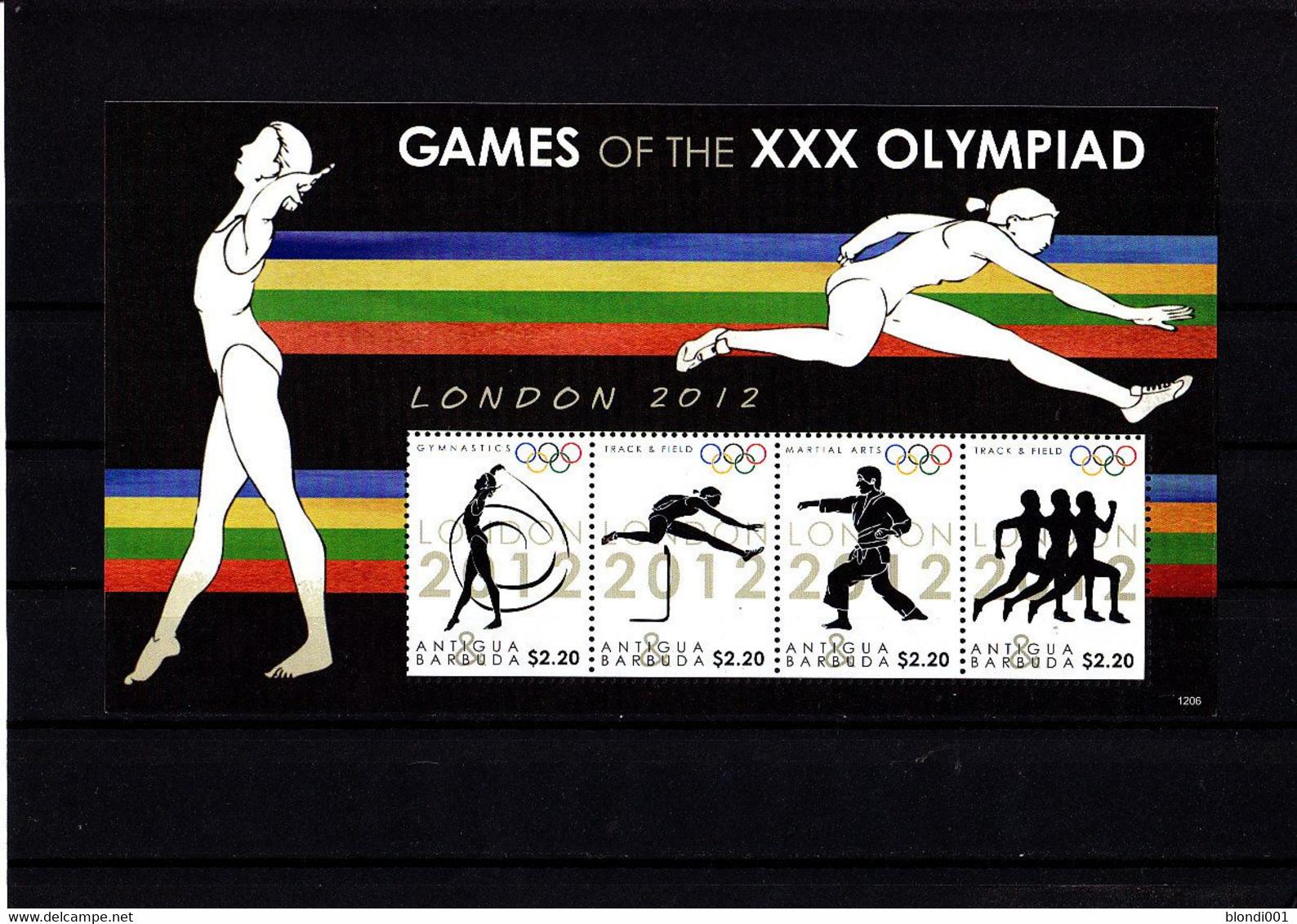 Olympics 2012 - Athletics - ANTIGUA & BARBUDA - S/S MNH - Sommer 2012: London