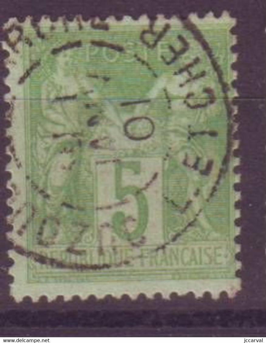 Ouzouer Le Marché Loir Et Cher (41) Oblitération Type A1 Sur Sage - 1877-1920: Semi Modern Period