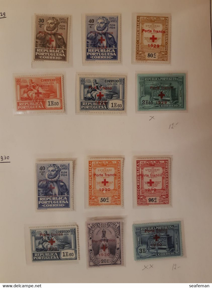PORTUGAL  COLLECTION  Airmail,SERVICE,PORTO,PAKET Etc,with Better Stamps,high Cw ,see 25 Scans   [28p] - Collections (with Albums)