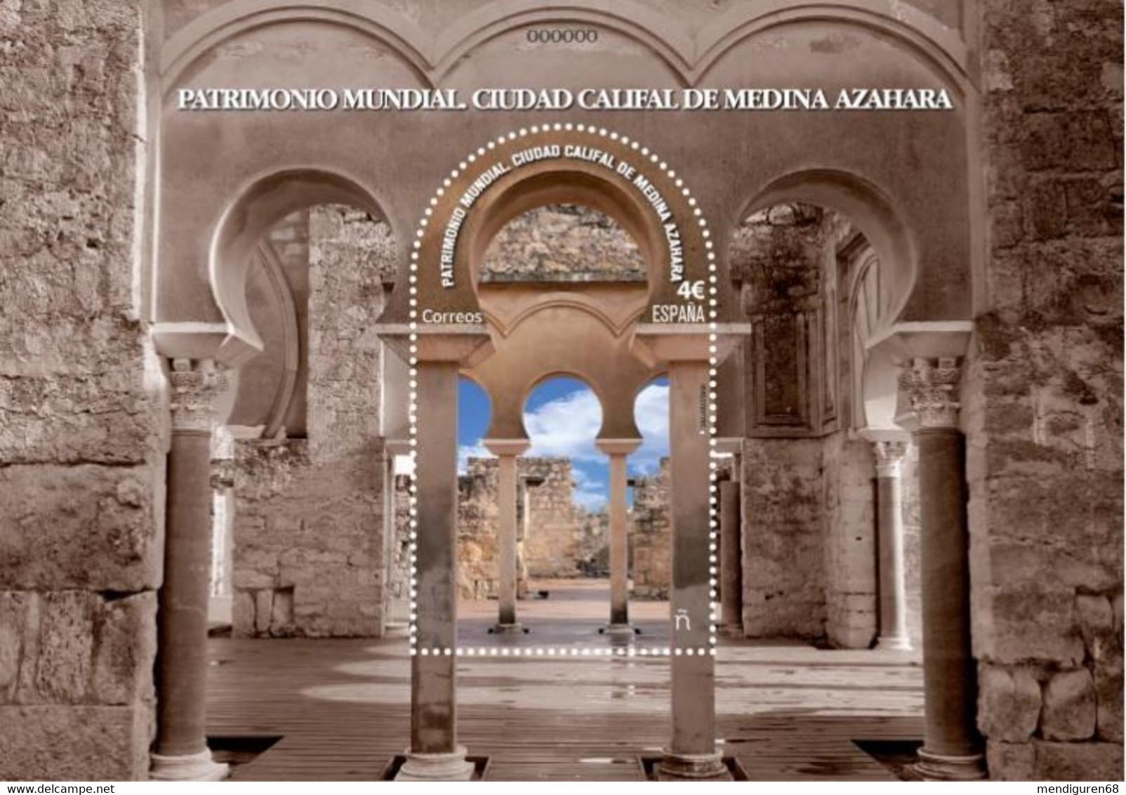 ESPAGNE SPANIEN SPAIN ESPAÑA 2020 WORLD HERITAGE: CALIFAL CITY MEDINA AZAHARA PATRIMONIO MNH ED HB5435 MI B5475 YT F517 - 2011-... Ongebruikt