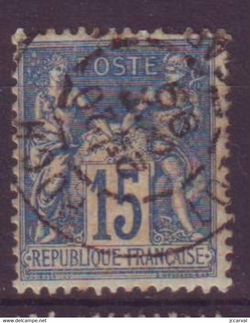 Puch Lot Et Garonne (47) Oblitération Type A1 Sur Sage - 1877-1920: Semi-moderne Periode