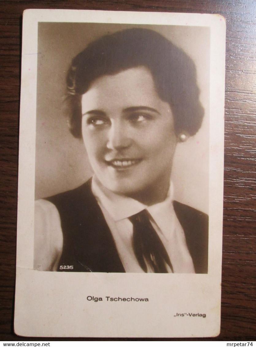 Olga Tschechowa , Russian - German Actress - Mujeres Famosas