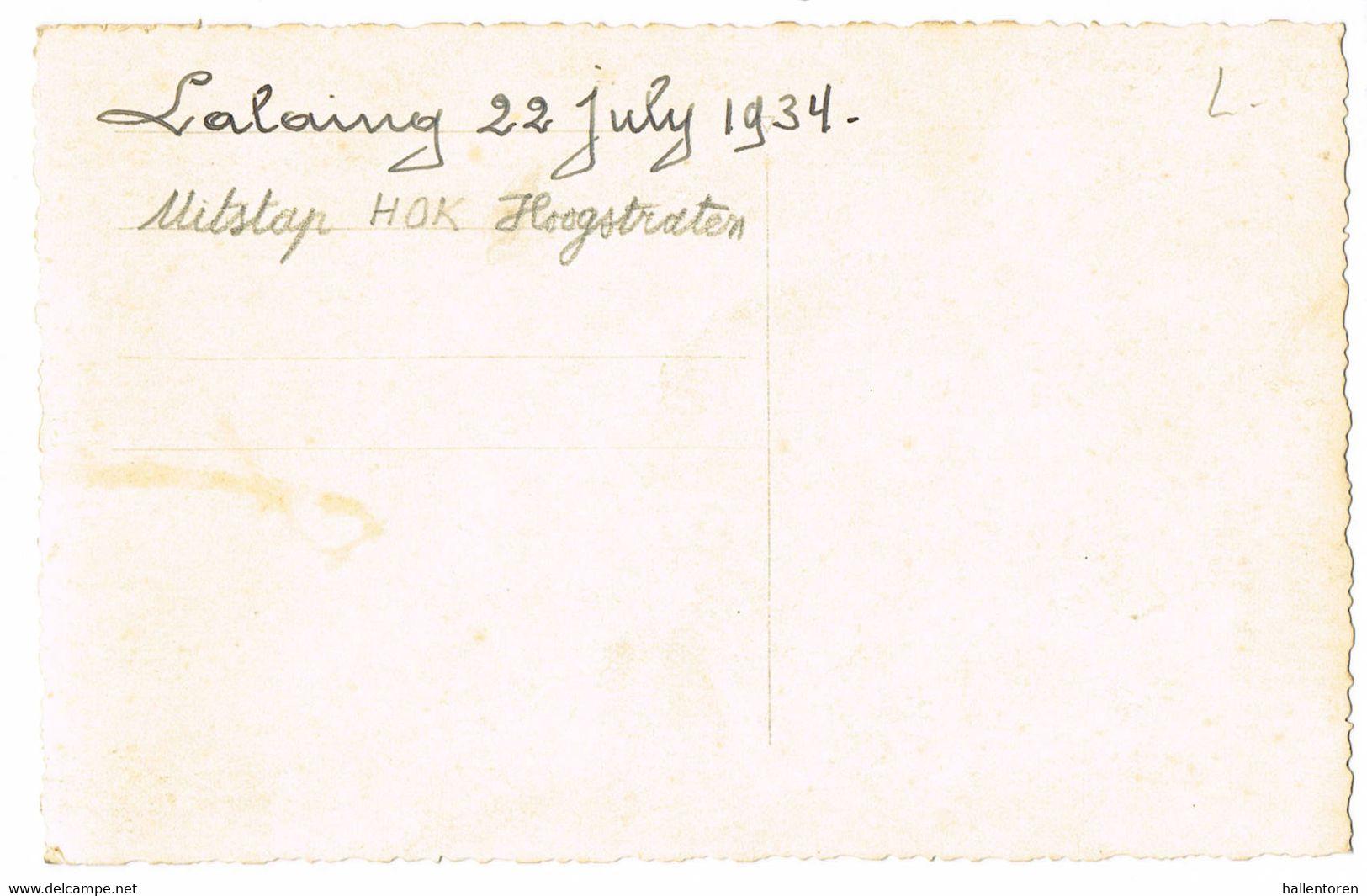 Hoogstraten, Lalaing: 22 Juli 1934; Uitstap HOK Hoogstraten ( 2 Scans) - Hoogstraten