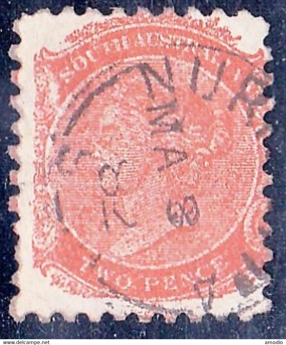 Australie Du Sud YT 27 Filigrane V ♚ Oblitéré Nuriootpa 08/05/82 TB - Oblitérés