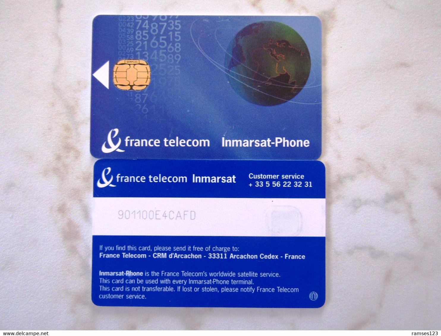 GSM SIM   VERY RARE    TEST   FRANCE TELECOM INMARSAT    FOR VENEZUELA  MINT - Nachladekarten (Handy/SIM)