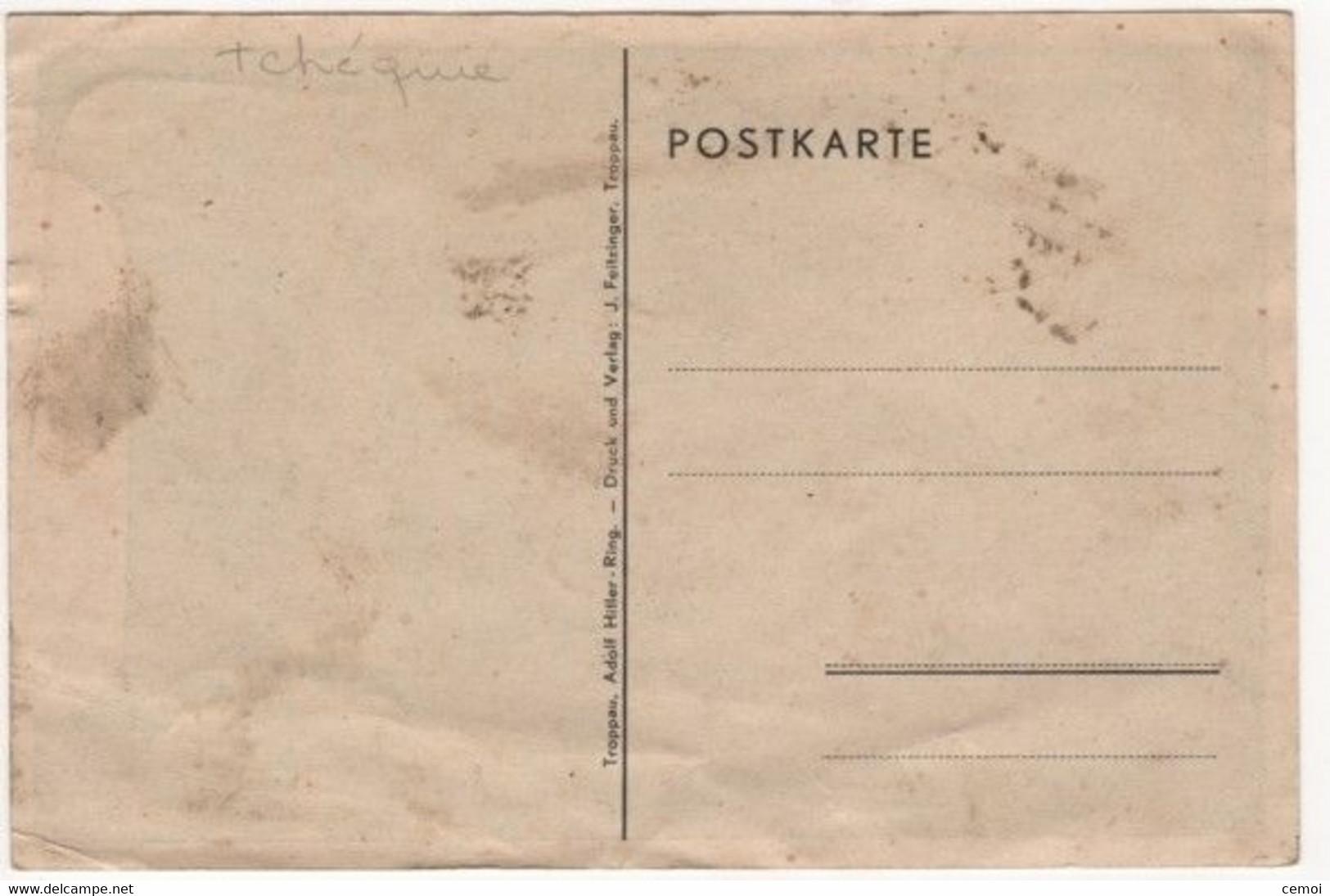 CPSM - TROPPAU - OPAVA (Tchéquie) - Adolf Hitler Ring - República Checa