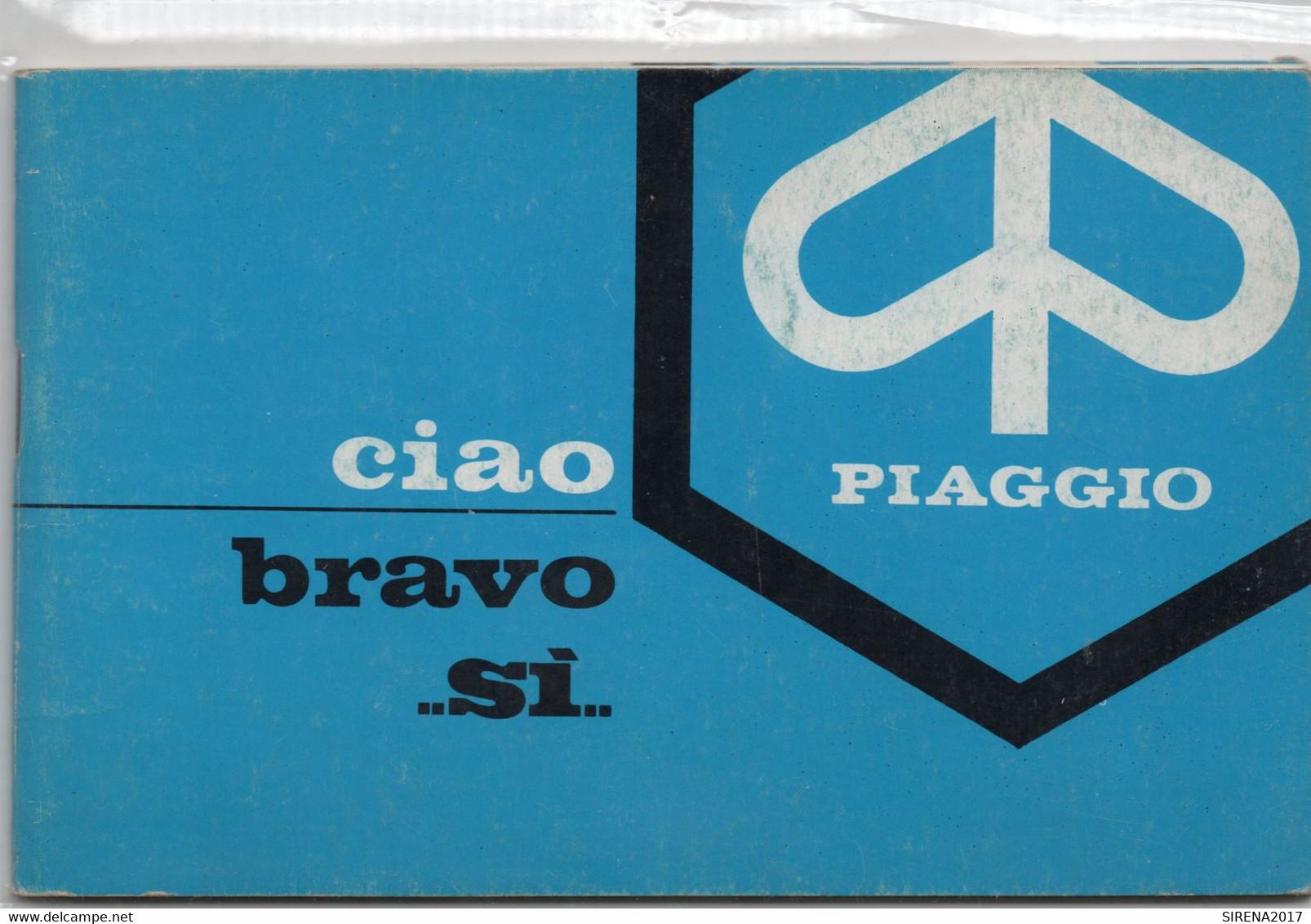 PIAGGIO - BRAVO ...SI..... - LIBRETTO MANUALE - Motorräder
