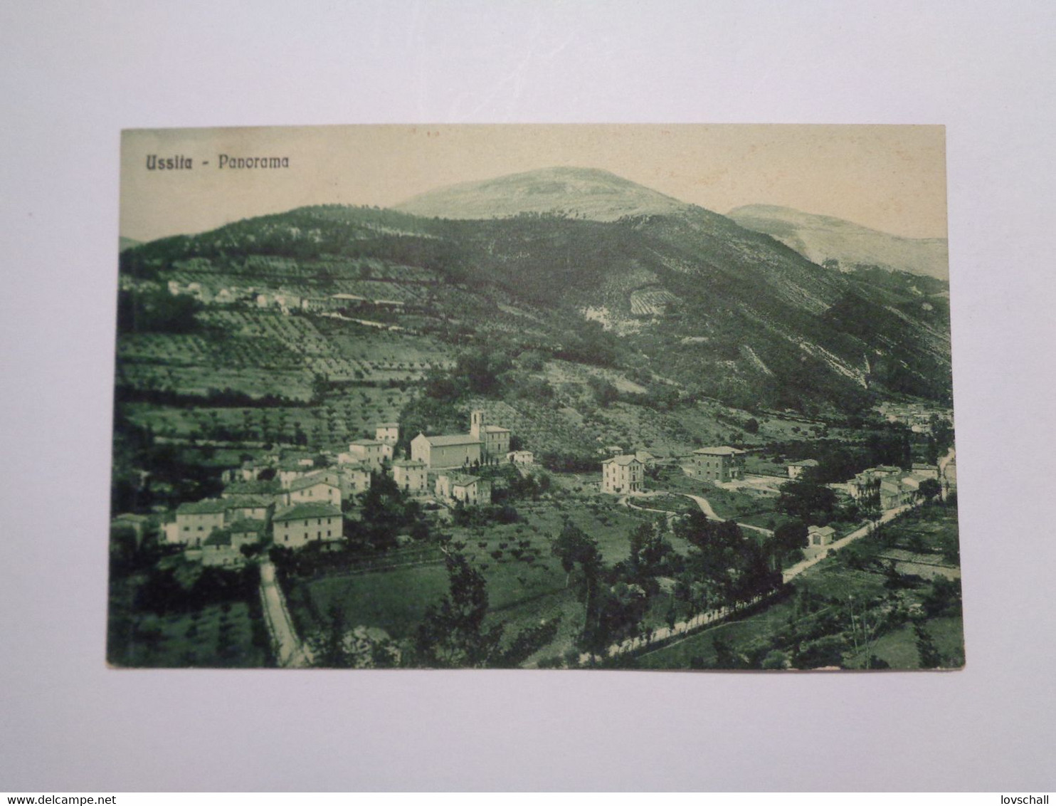 Ussita. - Panorama. (17 - 8 - 1931) - Altre Città