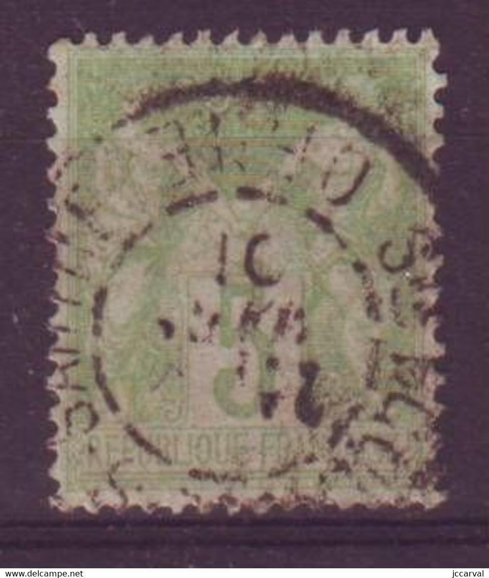 Ste Scolasse Sur Sarthe Orne (61) Oblitération Type A1 Sur Sage - 1877-1920: Semi Modern Period