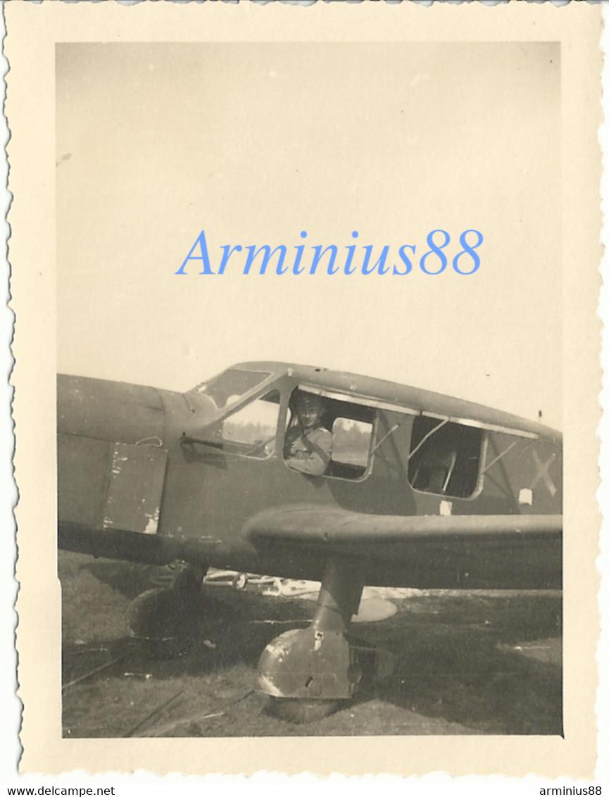 France, 1940 - Saint-Dizier - Terrain D'aviation De Robinson - Caudron-Renault C-635 M - Luftwaffe, Aufklärungsgruppe 11 - War, Military