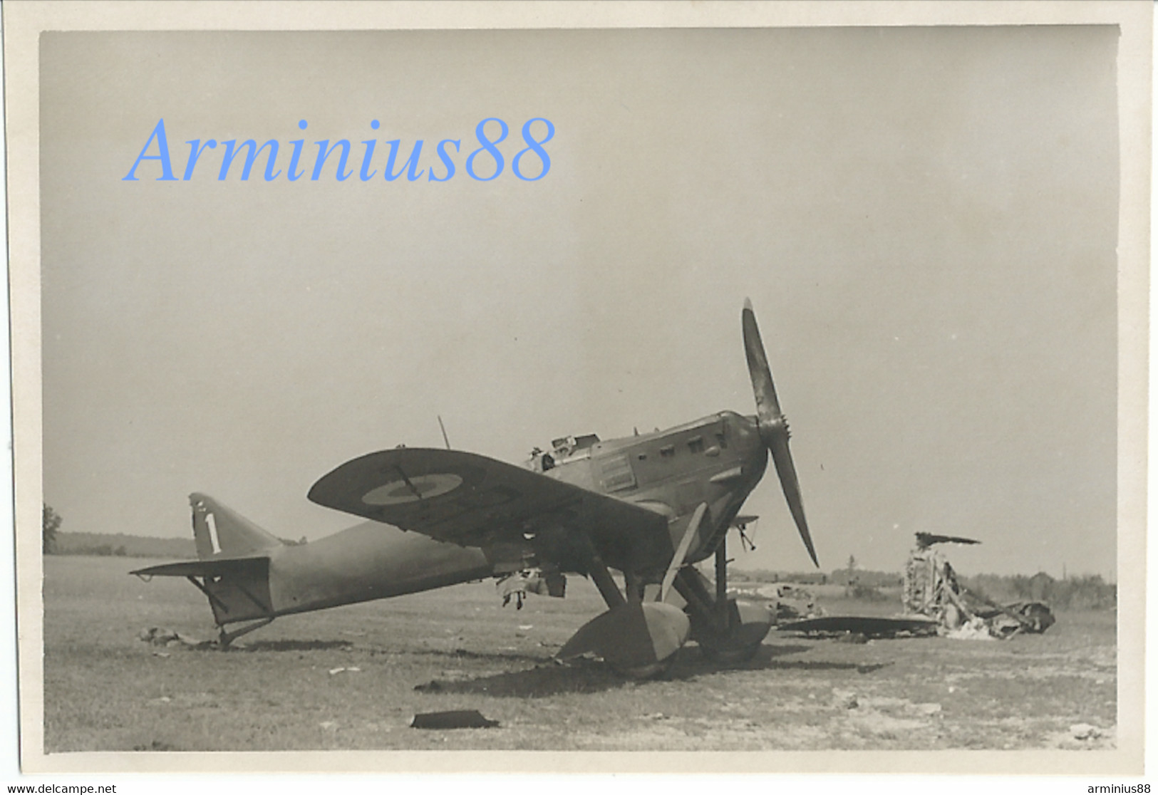 France, 1940 - Saint-Dizier - Terrain D'aviation De Robinson - Dewoitine D.510 - Luftwaffe - Aufklärungsgruppe 11 - War, Military