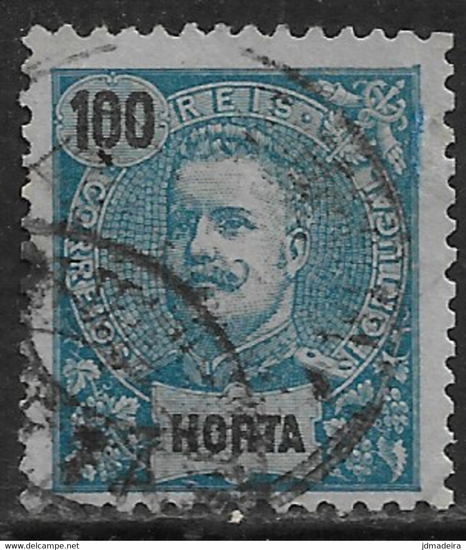 Horta – 1897 King Carlos 100 Réis - Horta