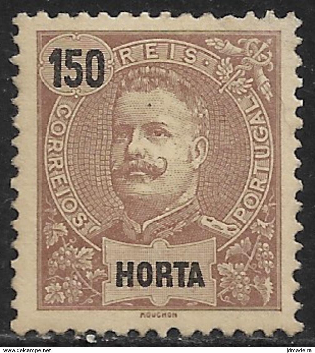 Horta – 1897 King Carlos 150 Réis - Horta