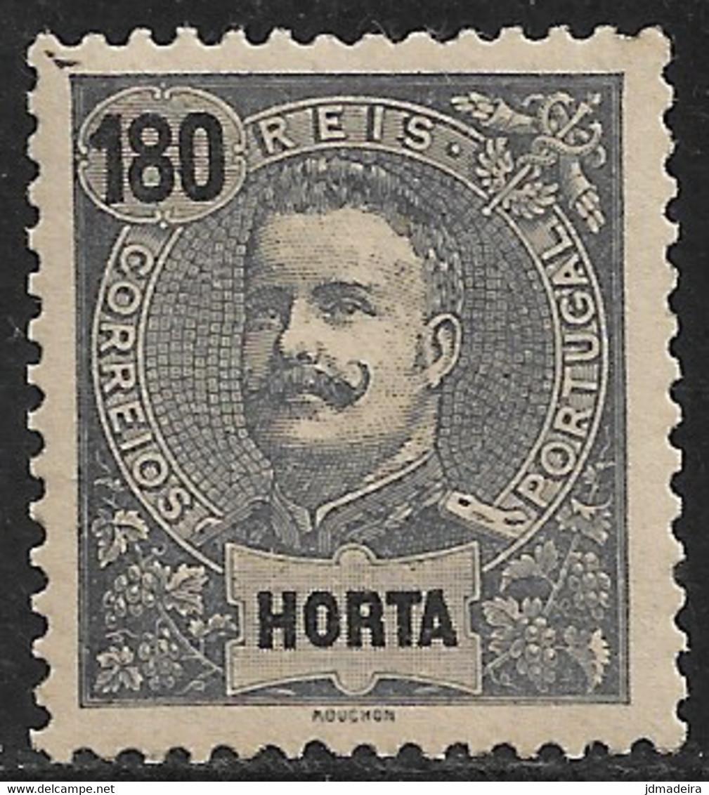 Horta – 1898 King Carlos 180 Réis - Horta