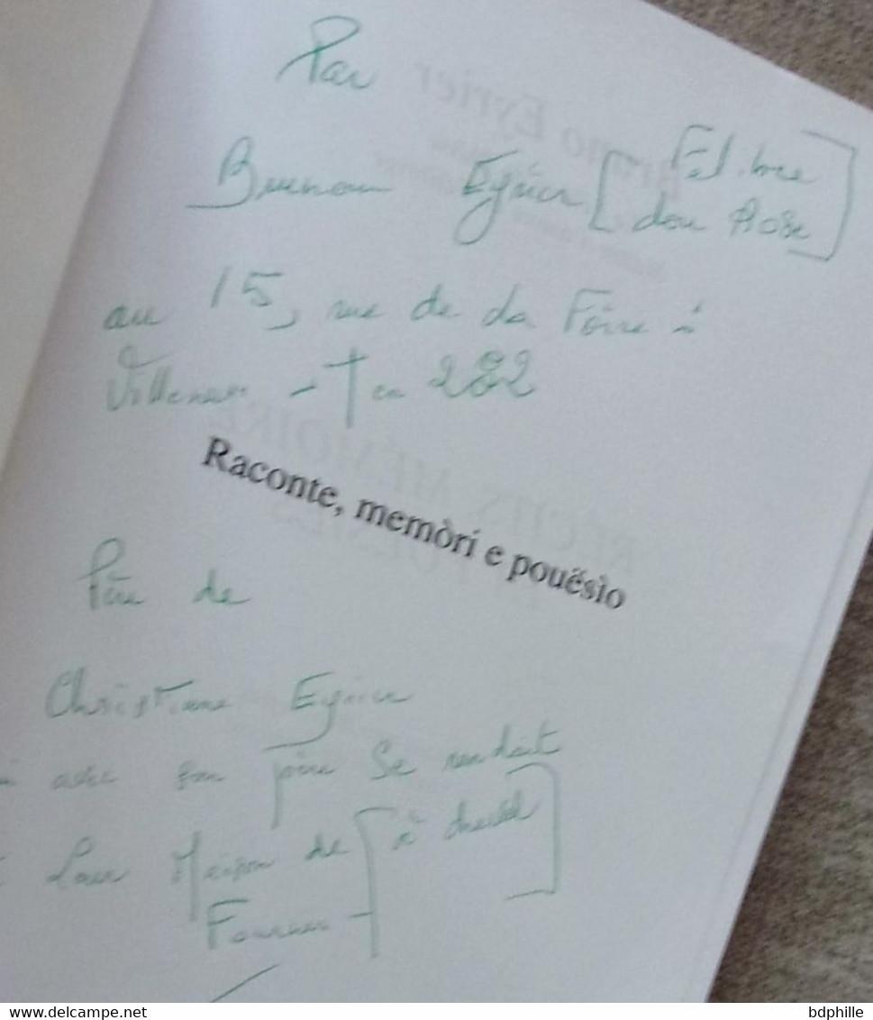 Raconte, Memòri E Pouësìo : Un Pantai ( Provence Provençal) - Poetry
