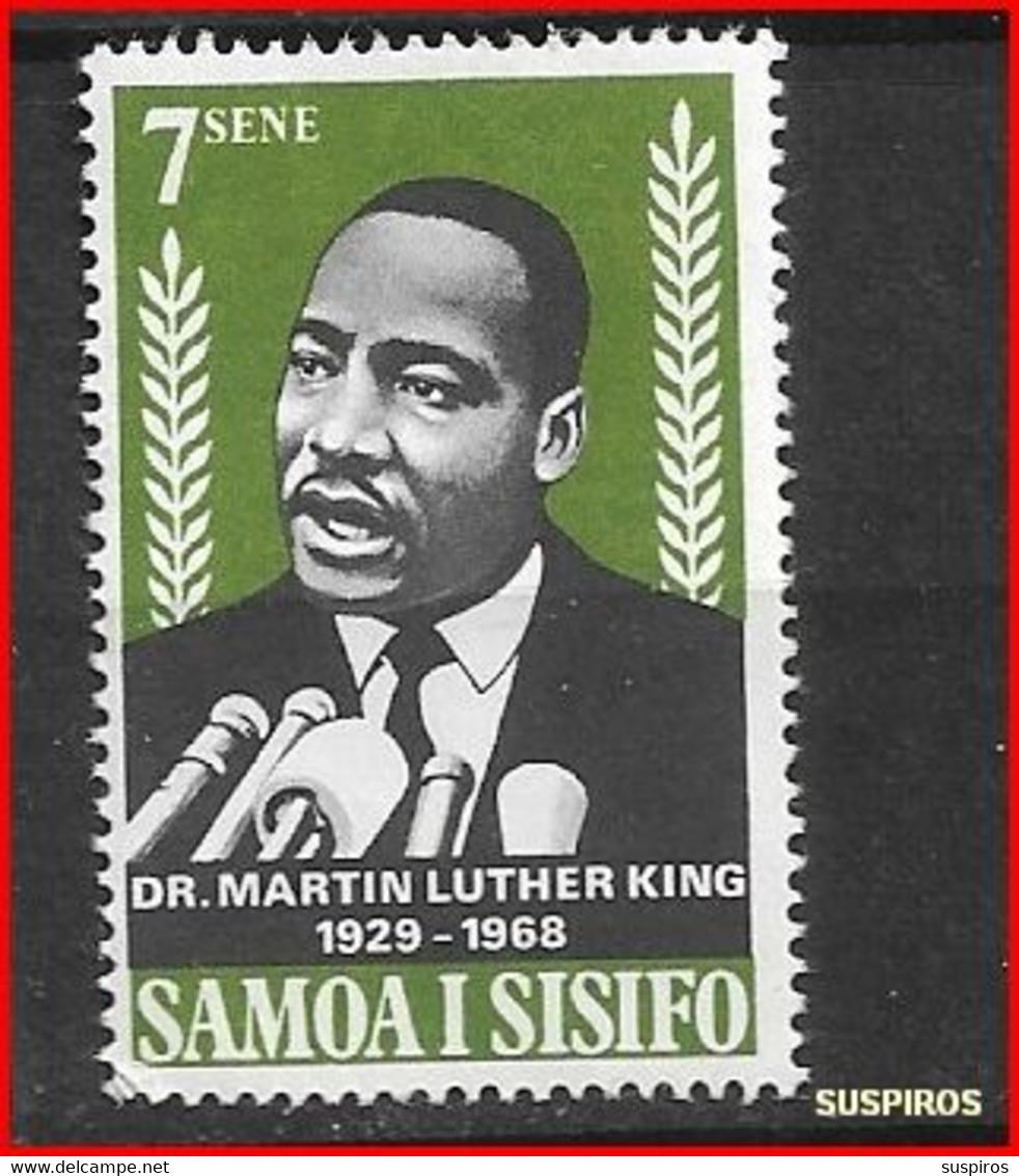 SAMOA 1968 Martin Luther King Commemoration, 1929-1968  MINT - Samoa