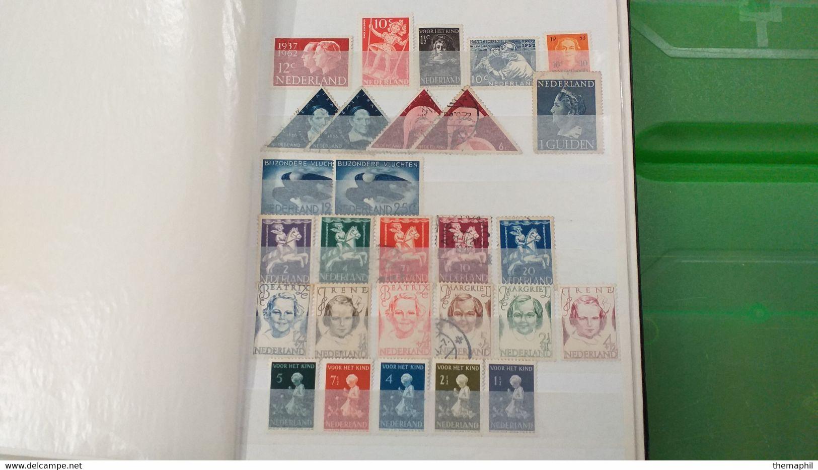 Lot N° TH 585 MONDE Dont Colonies Un Lot De 3 Classeurs Nombreux Neufs Xx - Collections (with Albums)