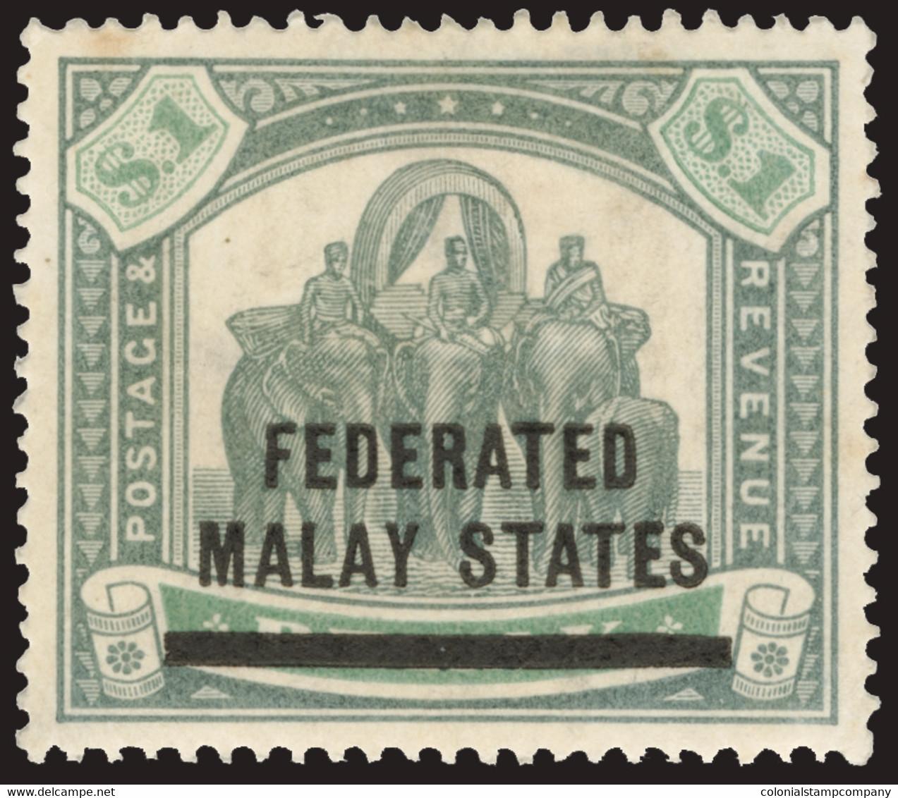 * Malaya (Federated States) - Lot No.773 - Federated Malay States