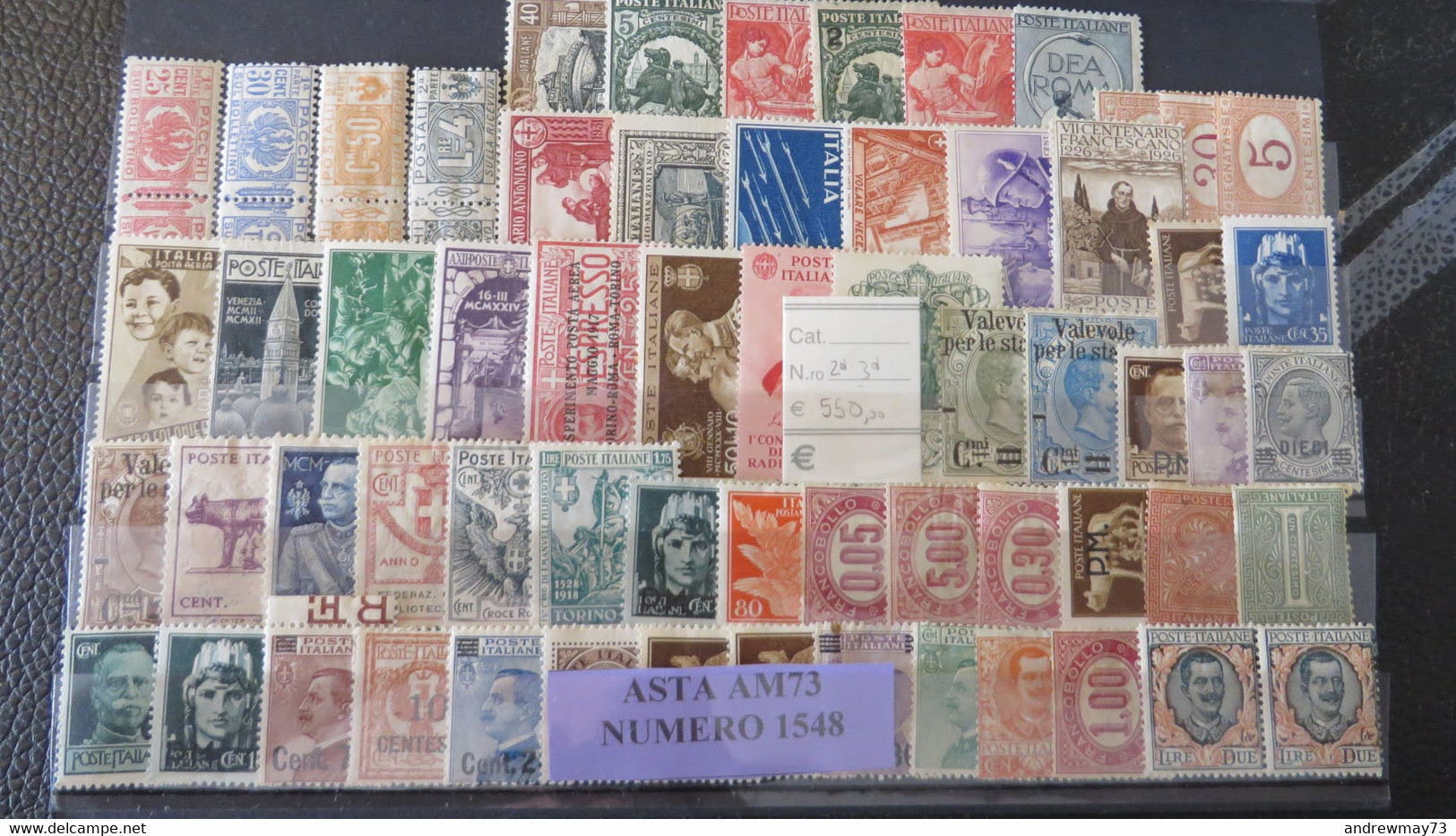 ITALY KINGDOM - NICE MNH SELECTION 2ND CHOICE 550 € ON SASSONE CATALOGUE - Mint/hinged