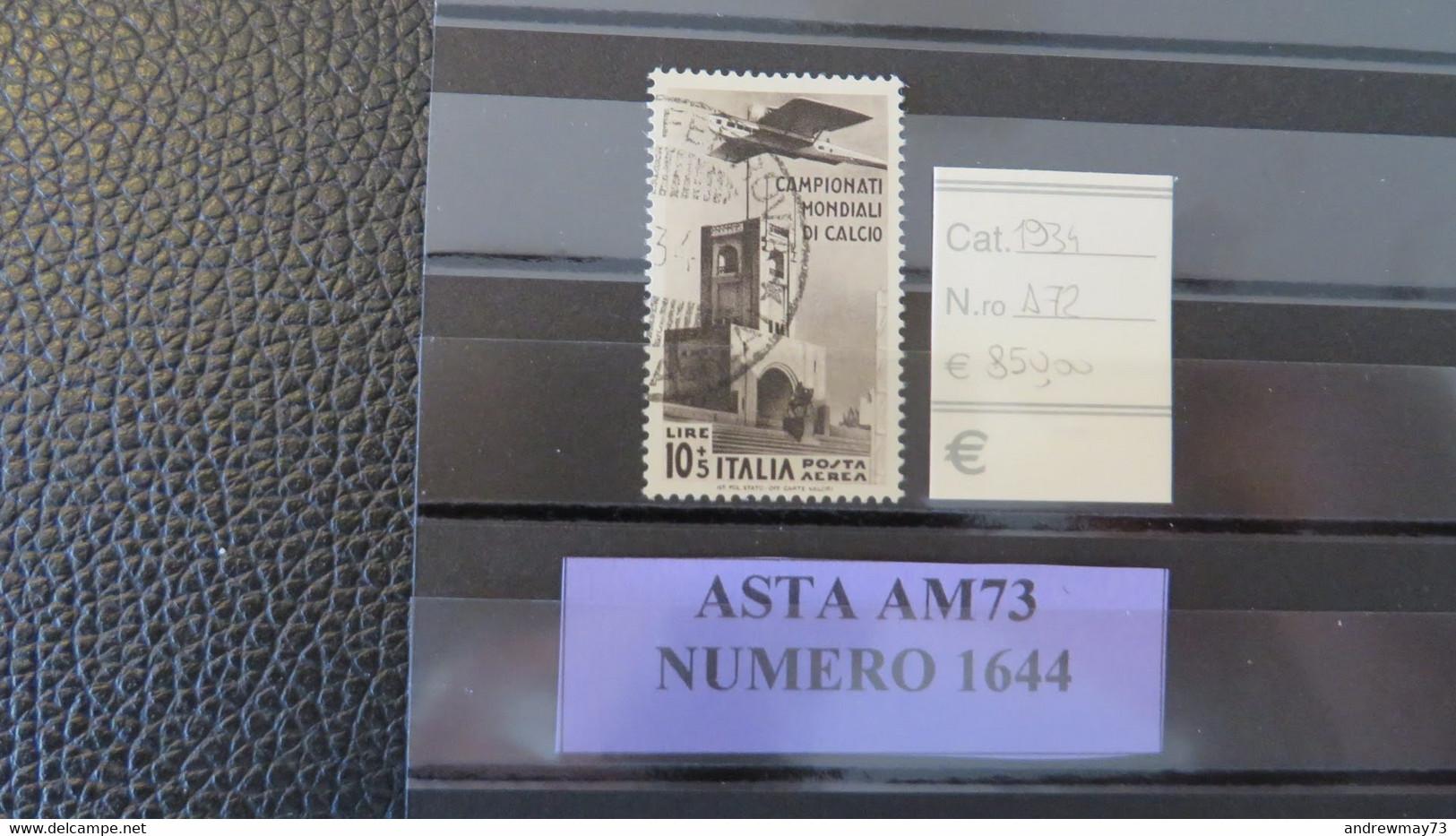 ITALY KINGDOM- NICE USED STAMP - Used