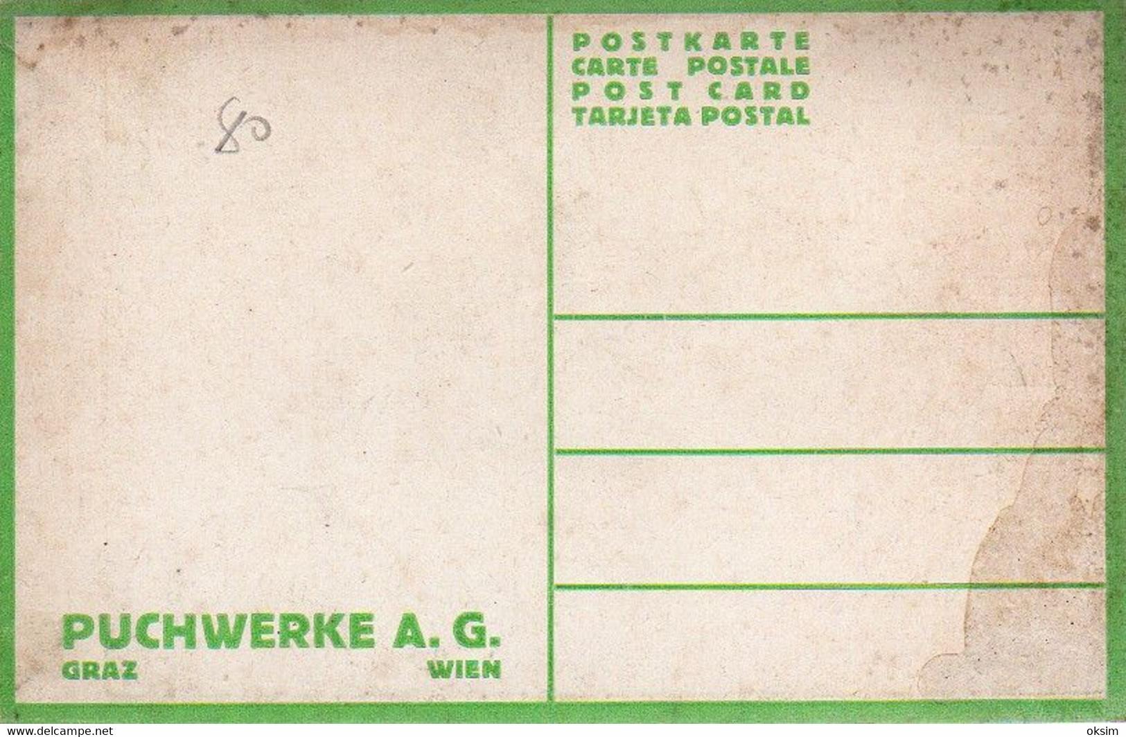 PUCH, F. ZWICKL, PUCHWERKE A. G., GRAZ, WIEN, MOTORRAD, MOTORCYCLE - Advertising