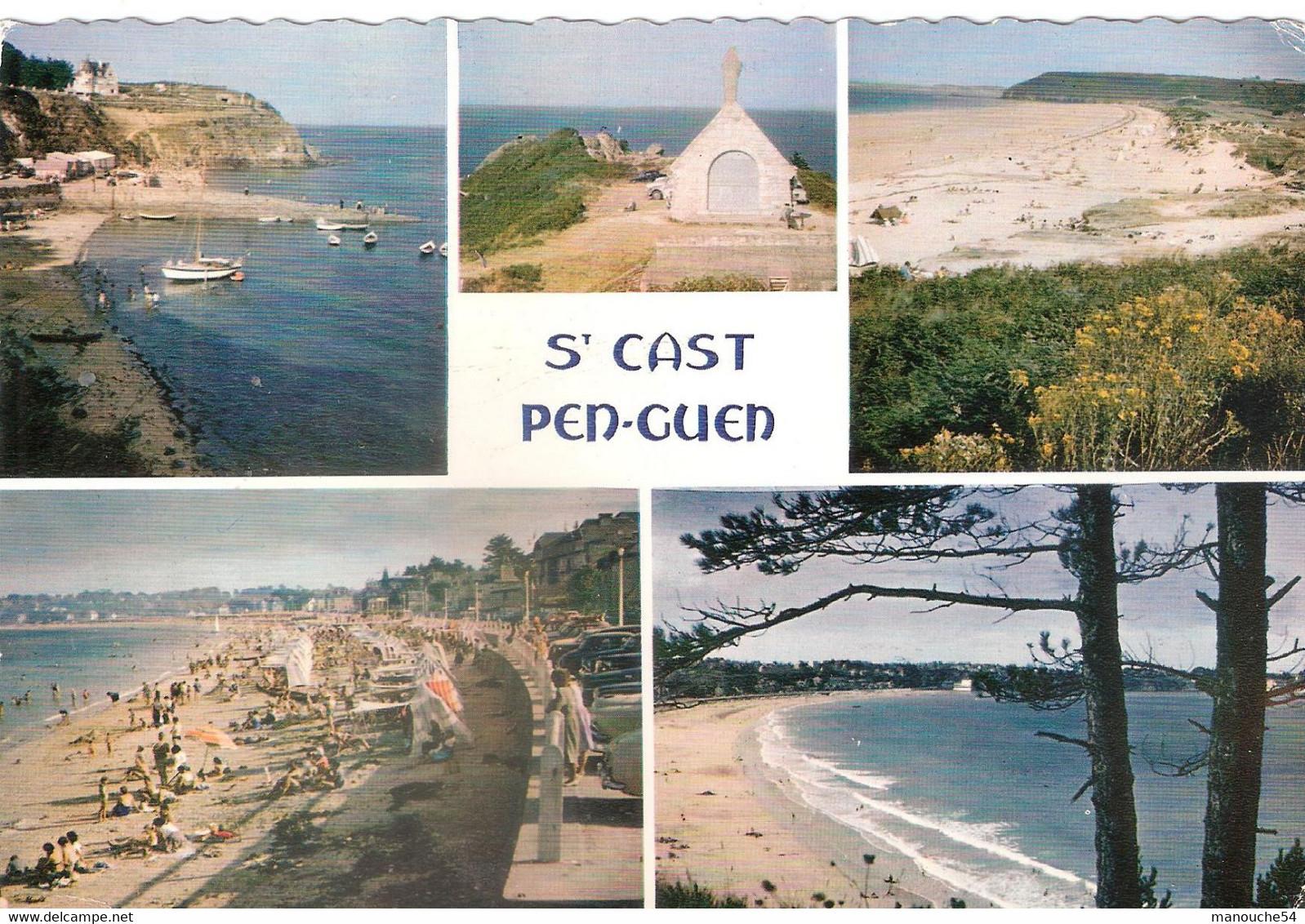 LOT DE 09 CPSM DE SAINT CAST - Saint-Cast-le-Guildo