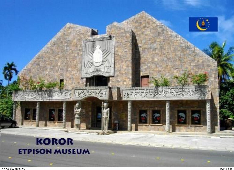 Palau Koror Etpison Museum New Postcard - Palau