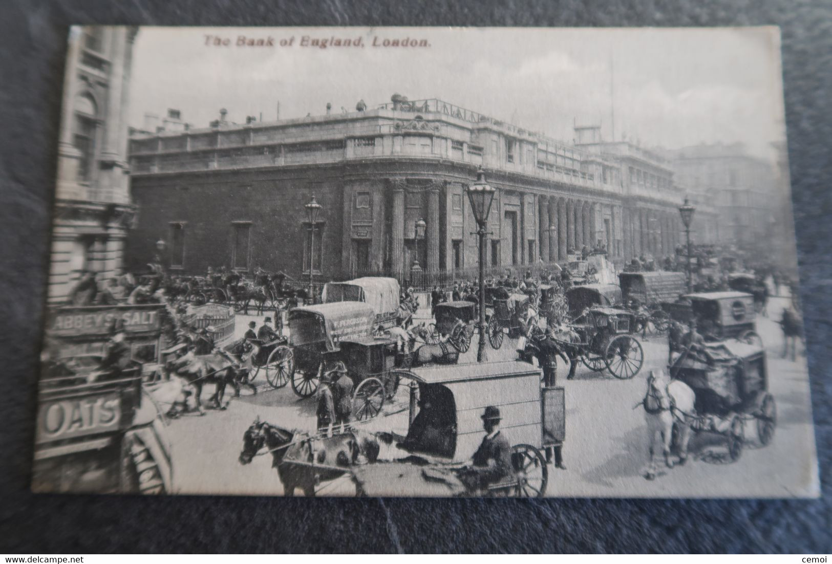 CPA Animée - The Bank Of England - LONDON - 1910 - Otros