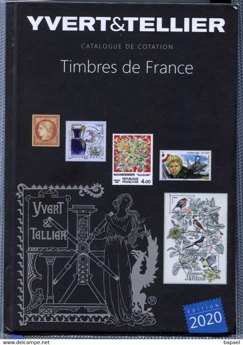 Catalogue De Cotation Yvert&Tellier ''Timbres De France'' Année 2020 (NEUF) - Andere