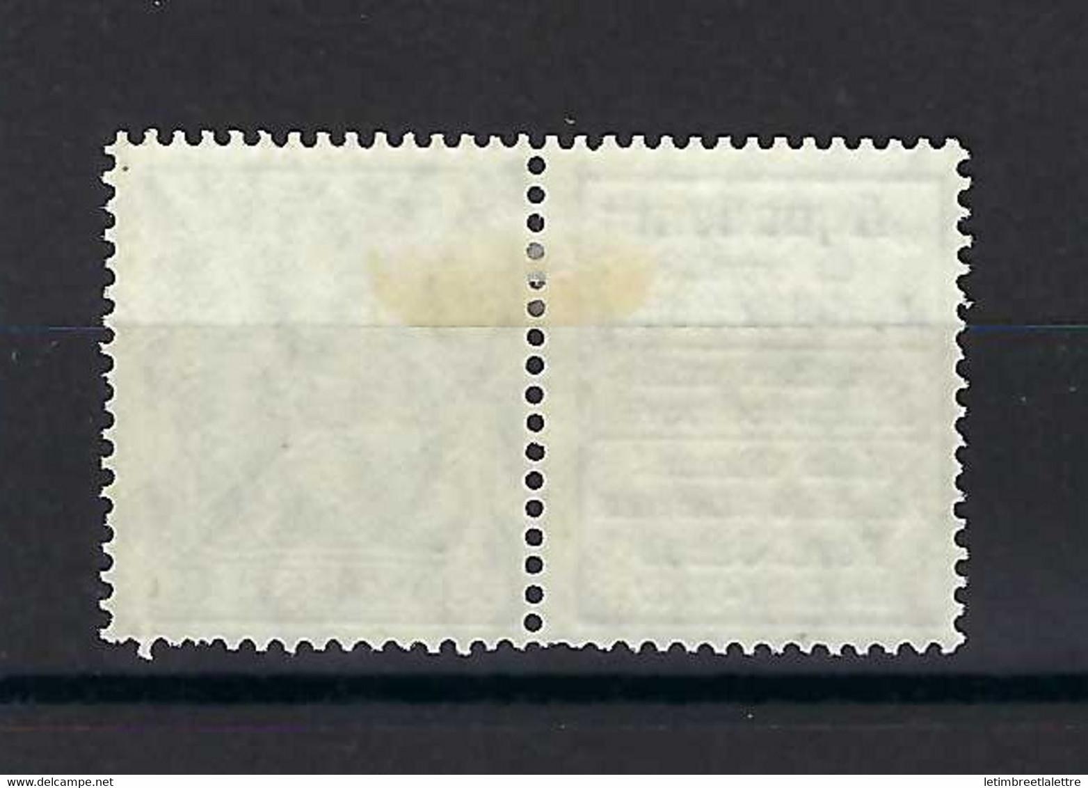 ⭐ Allemagne - Timbre Publicitaire - Michel N° W 2 . 12 * - Neuf Avec Charnière - Aquadent -> R 12 - 1911 / 1912 ⭐ - Germany