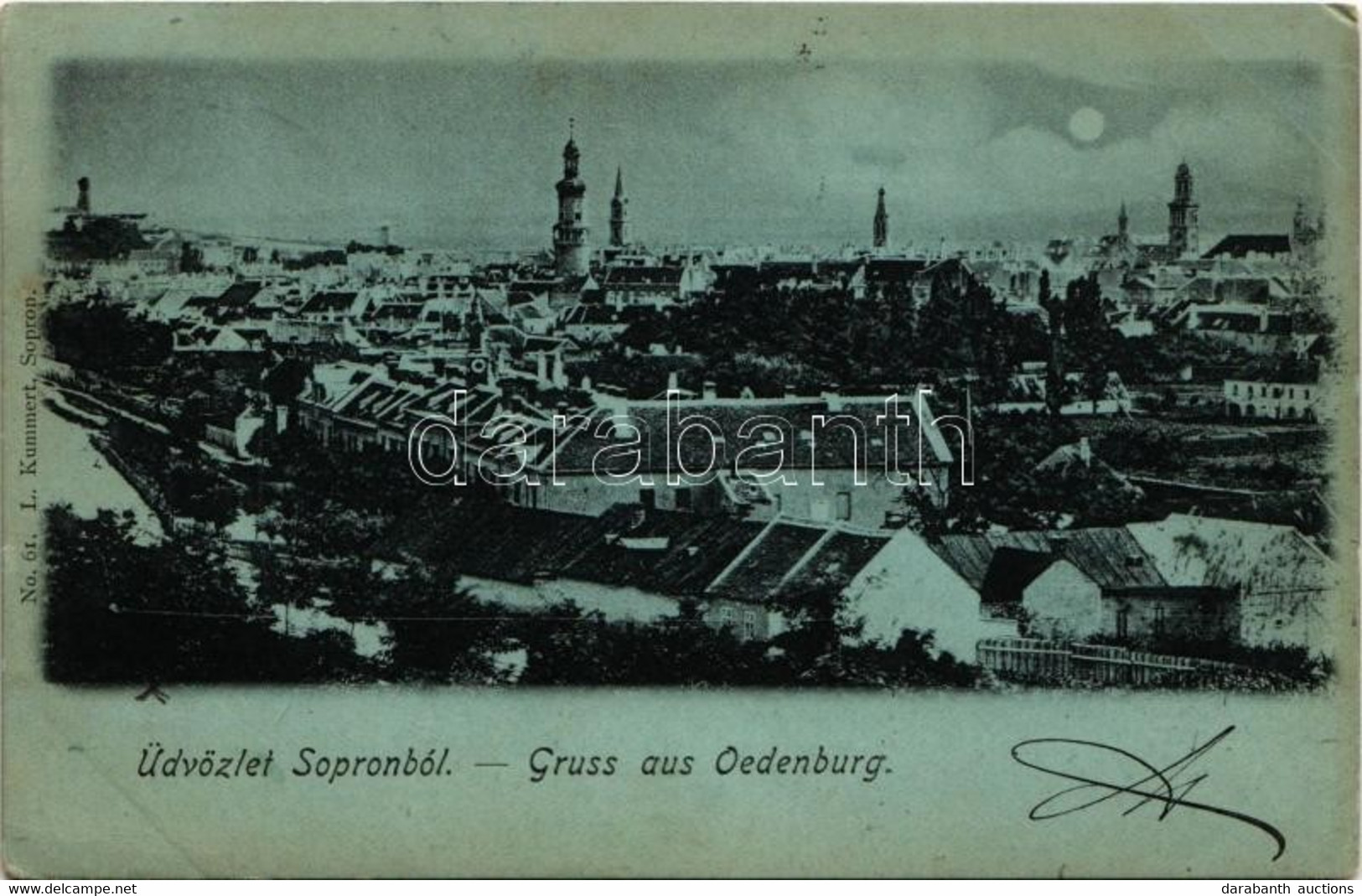 T2/T3 1899 (Vorläufer) Sopron, Tél Este (EK) - Unclassified
