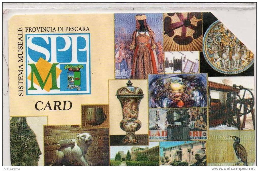 USATE CONSORZIO MUSEI DI PESCARA GOLDEN Euro 274 - Public Practical Advertising