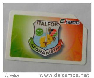 USATE  ESERCITO ITALIANO ITALFOR AFGHANISTAN - Public Practical Advertising