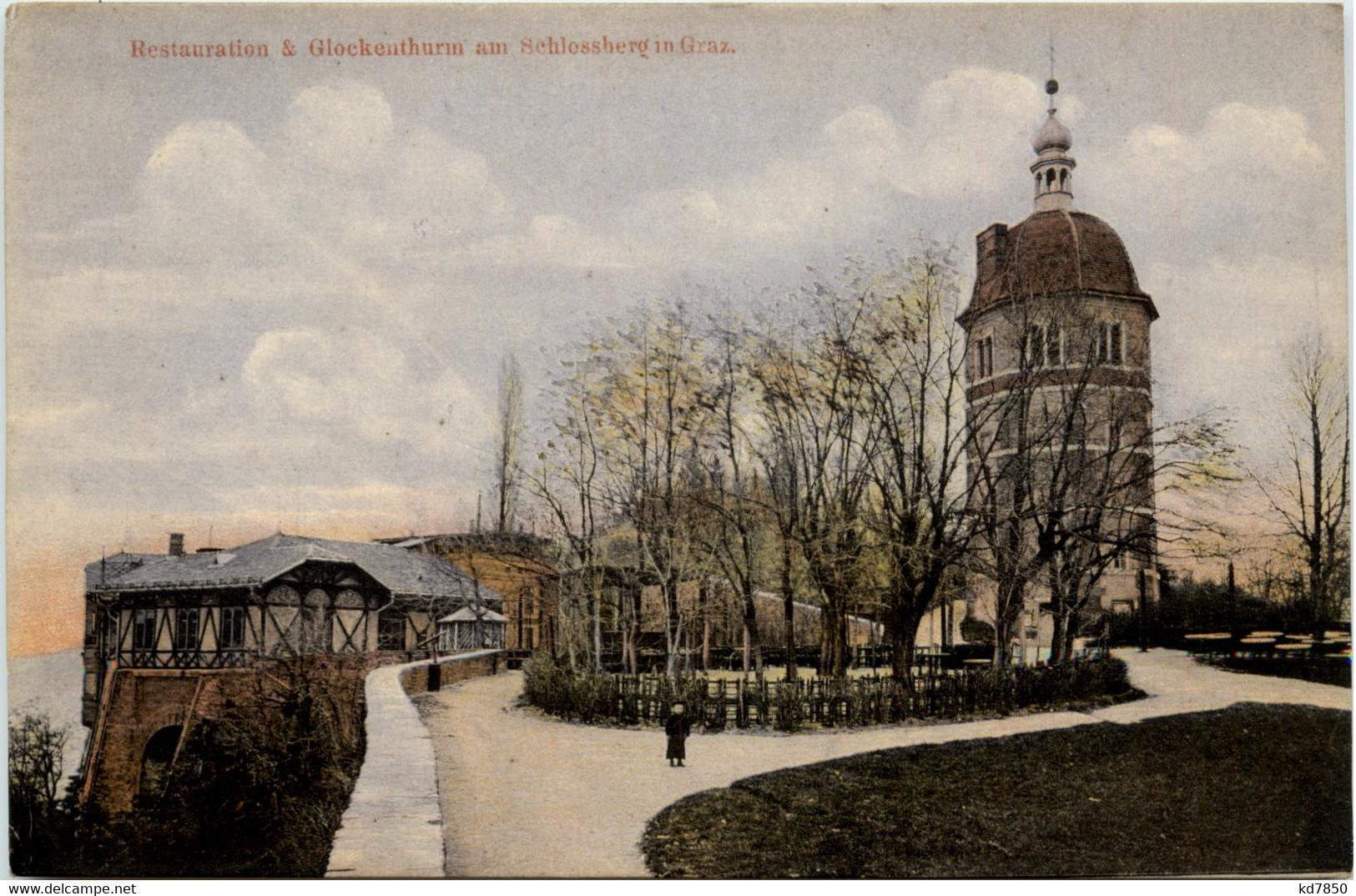 Graz/Steiermark - Restauration U. Glockenthurm Am Schlossberg - Graz