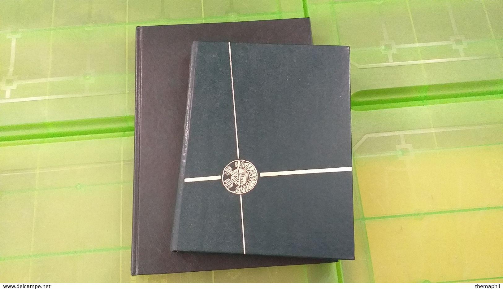Lot N° TH 611  COLONIES Un Lot De 2 Classeurs Neufs Xx Et Obl. - Collections (with Albums)