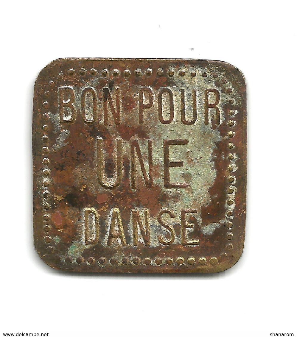 JETON De BAL // PAVILLON SOUS BOIS // CASINO DE LA FOURCHE // Non Référencé ? - Unclassified