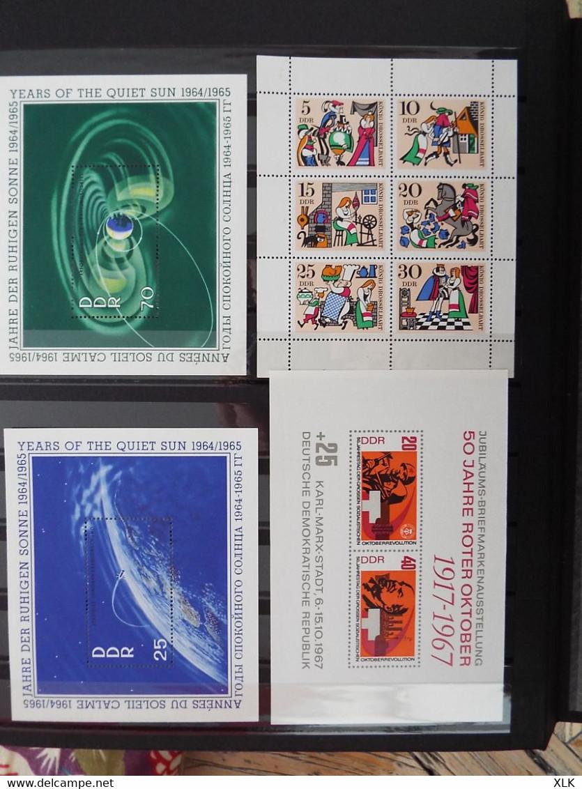 Allemagne 1976 - 1981 - Deutschland - Deutsches Reich - Blocs - Documents Philatéliques - DDR - Bundespost - Bayern - - Collections
