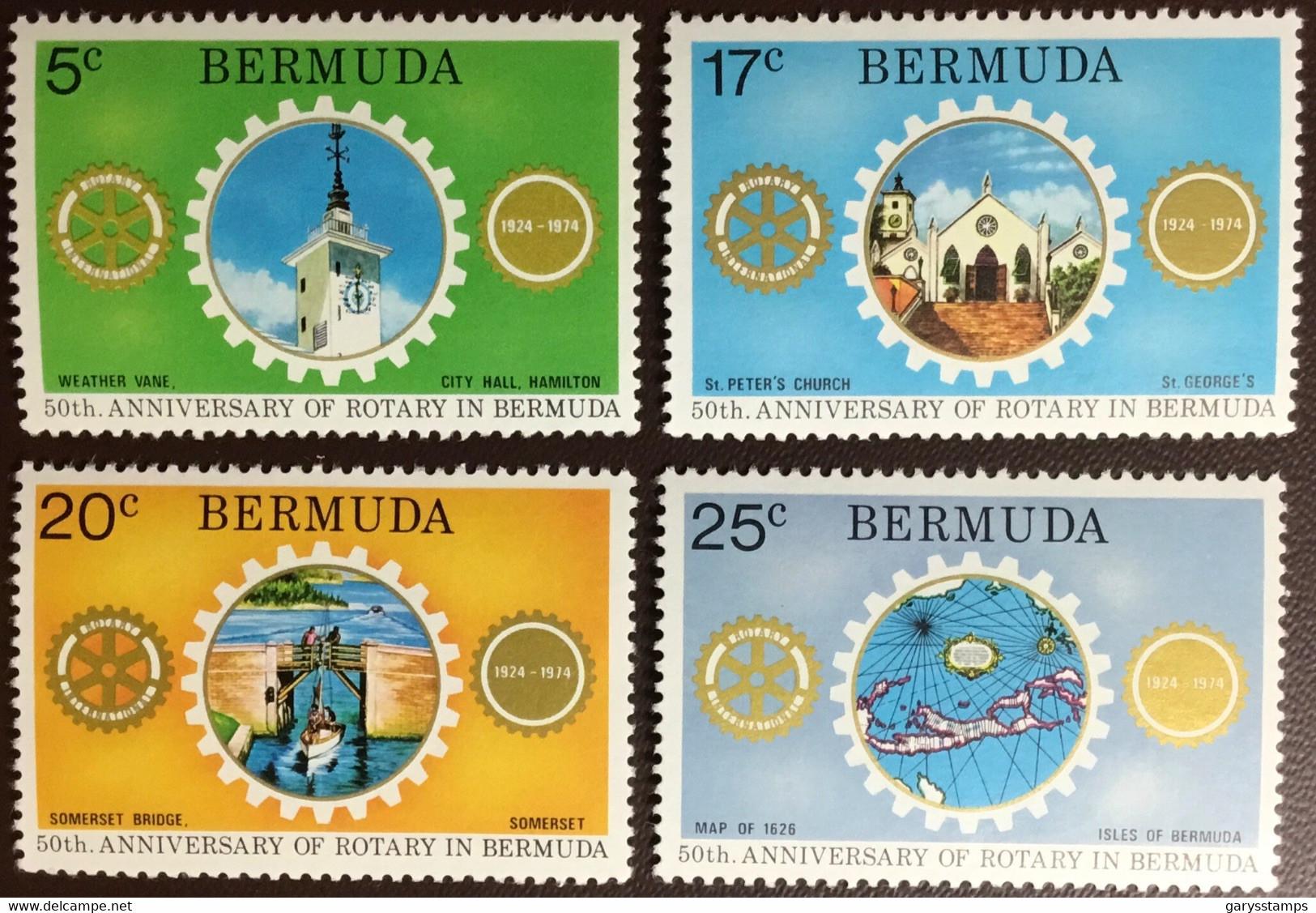 Bermuda 1974 Rotary MNH - Bermuda