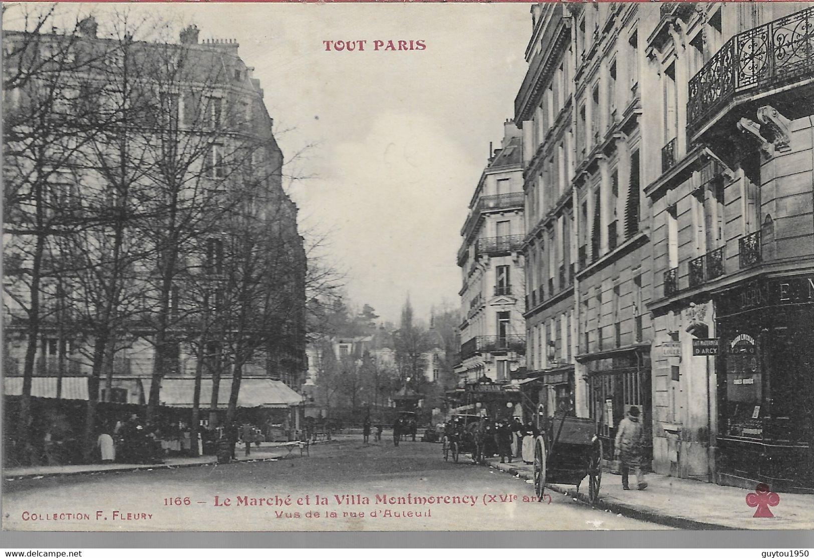 Tout Paris Le Marché Et La Villa Montmorency - Arrondissement: 11