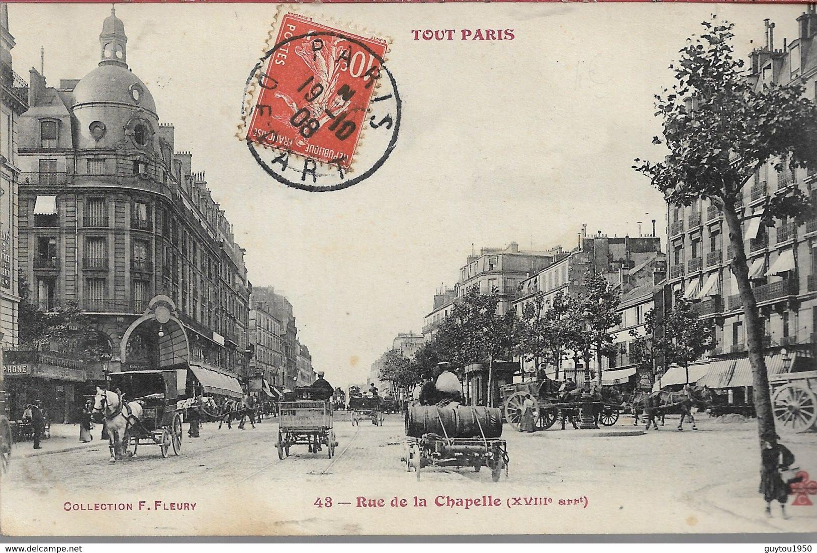Tout Paris  Rue De La Chapelle - Arrondissement: 16