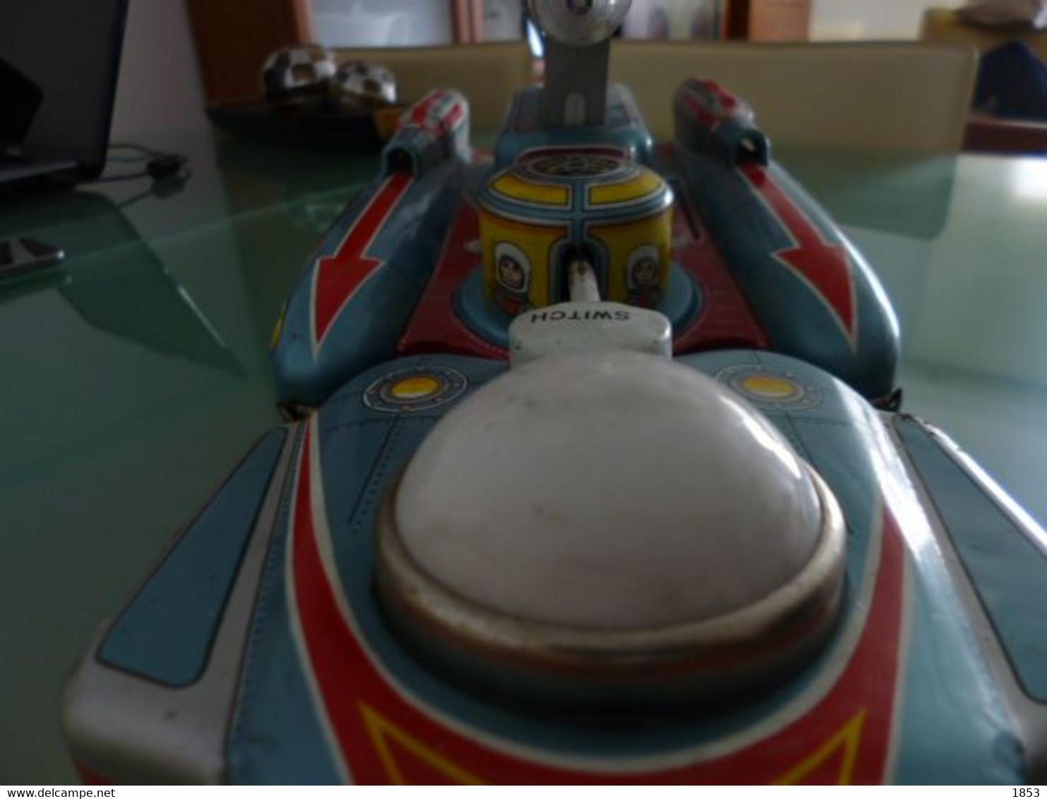 JUGUETES EN LATA - NAVE ESPECIAL- RENDEZVOUS-YANOMAN - MADE IN JAPON- ANOS 50/60 - Toy Memorabilia