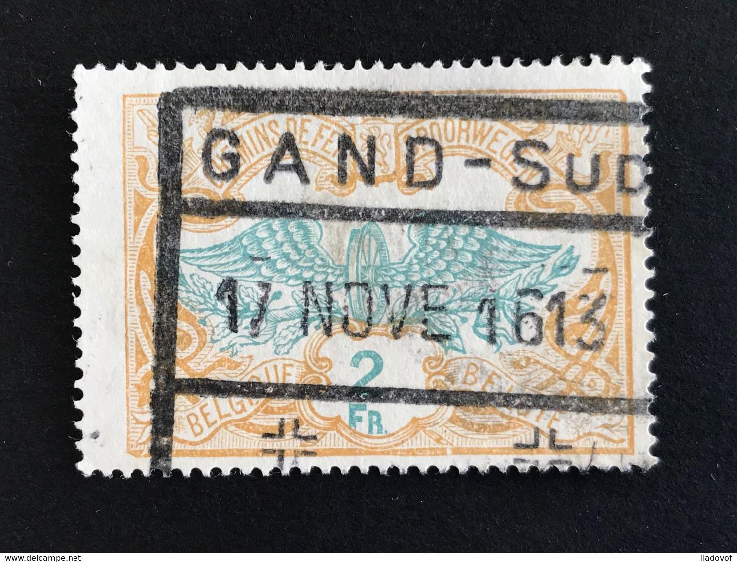 TR43 Gestempeld GAND-SUD - 1895-1913